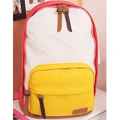 Fashion Patent Korean Style Canvas Backpacks