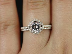 As far as I'm concerned, this is my ring. – Kitana Original Size 14kt Rose Gold Thin Morganite by RosadosBox, $1325.00