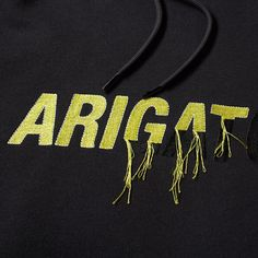 Buy the Axel Arigato Torn Embroidery Hoody in Black from leading mens fashion retailer END. - only Fast shipping on all latest Axel Arigato products Streetwear, Embroidery Fashion, Graphic Shirts, Embroidery Techniques, Minimal Fashion, Axel Arigato, Apparel Design, Timeless Design, Fashion Details