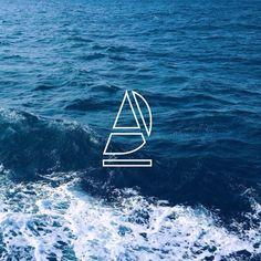 Okay check out my new logo. The Sailboat in deep blue ocean #JessicaJones #identitybranding #identity #branding #ico