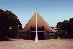 igreja nossa senhora de fátima, brasilia by oscar niemeyer