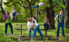 This is so great! What a fun way to do family pictures. @Heather Creswell Creswell Sellers @Tunda Hay Hay Hay lets do this for family pictures next time. We could even do it ourselves with a tripod and Gimp!