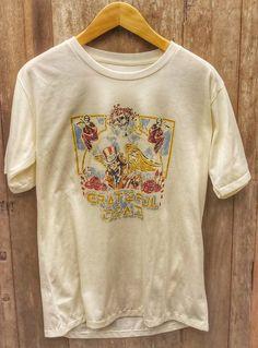 Greatful Dead super soft Vintage Band T Shirt super soft cotton Chest Measurement Vintage Band T Shirts, Sherman Oaks, Fleetwood Mac, Vintage Looks, My Etsy Shop, Tees, Check, Mens Tops, Cotton