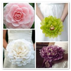 These are gorgeous. I also love the idea of the single magnolia--for a Southern girl!
