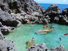 Hidden Lagoon! - Las Islas de Gigantes. Iloilo, Philippines