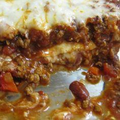 . Quesadilla Casserole aka Mexican Lasagne Recipe from Grandmothers Kitchen.