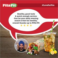 Dear Gurpreet, Your awesome review is the real thrust that motivates us to serve you the best. Thanks! #LoveForPita  More Details: http://www.zoma.to/EkyeoM