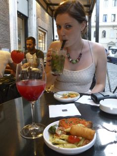 Best Aperitivo places in Rome. Gusto wine bar, get food from the main restaurant so it's delicious and varied. Piazza Augusto Imperatore, Roma. http://www.gusto.it/IT/Section/SubSection/c1ed21c4-5ab9-4739-b5a3-6db7676011c8/'Gusto.aspx