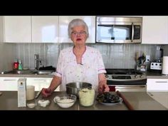 "Today is Oma's Birthday and in celebration of this very special day, Oma wanted to share her latest ""Yummy"" recipe with you. Oma continues to be touched. Austrian Recipes, Hungarian Recipes, German Recipes, Cooking Videos, Cooking Recipes, Plum Dumplings, Slovenian Food, Polish Recipes, Polish Food"