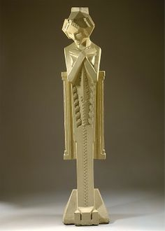 Sprite / Frank Lloyd Wright; Alfonso Ianelli / c. 1914 / painted cement