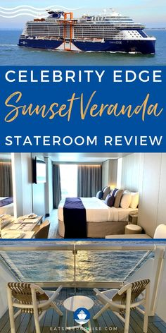 Celebrity Edge Sunset Veranda Stateroom Review - Discover why it is worth upgrading your accommodations on your next Celebrity cruise with our Celebrity Edge Sunset Veranda Stateroom review. Cruise Checklist, Cruise Tips, Extra Storage Space, Storage Spaces, Cruise Reviews, Set Of Drawers, Celebrity Cruises, Desk Areas, Large Shower