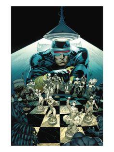 New Mutants #10 Cover: Cyclops by Adam Kubert