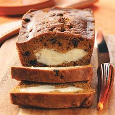 Cream Cheese and Pumpkin Bread