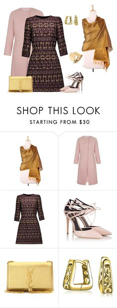 """""""outfit 5494"""" by natalyag ❤ liked on Polyvore featuring NOVICA, Dolce&Gabbana, Fratelli Karida, Yves Saint Laurent and Bling Jewelry"""
