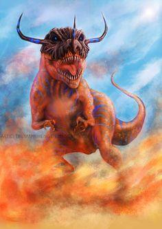Digimon : Greymon by TrumanCheng.deviantart.com on @DeviantArt