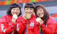 【レスリング】登坂、残り2秒「執念」金…女子48キロ級