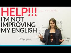 Help! I'm not improving my English! - YouTube -         Repinned by Chesapeake College Adult Ed. We offer free classes on the Eastern Shore of MD to help you earn your GED - H.S. Diploma or Learn English (ESL) .   For GED classes contact Danielle Thomas 410-829-6043 dthomas@chesapeke.edu  For ESL classes contact Karen Luceti - 410-443-1163  Kluceti@chesapeake.edu .  www.chesapeake.edu