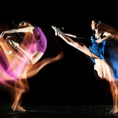 twin dancer by Manuel Cafini
