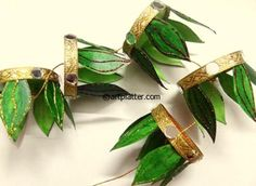 Diwali Hanging Decoration from paper cups - kid's Diwali actvity