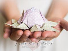 Fiori di Cotone: Un fiore di loto per presentarvi il mio piccolo Shop!