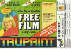 Send your films off to be developed - hiding when they were sent back!