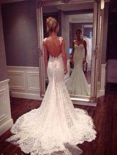 Crochet Wedding Dress, wish there were a pattern