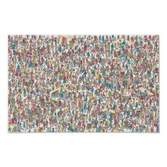 Wheres Wally Posters & Prints | Zazzle Wheres Wally, Museum Poster, Make Your Own Poster, Band Posters, Graphic Design Tutorials, Modern Artwork, Department Store, Custom Posters, Tool Design