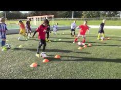 ⚽ Technical Circle - Creative Football/ Soccer Activity for Kids - Soccer Drills Soccer Drills For Kids, Football Drills, Soccer Practice, Soccer Skills, Kids Soccer, Soccer Games, Football Soccer, Soccer Tips, Soccer Videos