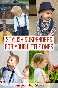 Find the perfect pair of suspenders for your little ones at SuspenderStore. Check out our endless selection, all made in the USA. They come in every color and pattern imaginable (for men, women, and children)!