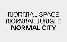 Elias Henzer: Eh Normal typeface specimen