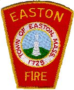 Easton Fire Department Patch