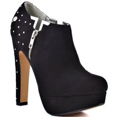 Yard Ankle Boot - Black Fab  Blink