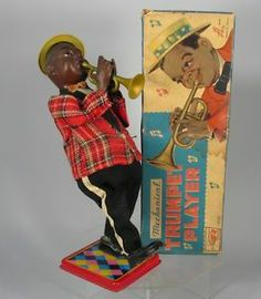 Mechanical Trumpet Player, w/ box, 554,07 € (17/02/14)