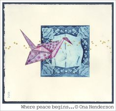 watercolour & solar etching by Ona Henderson