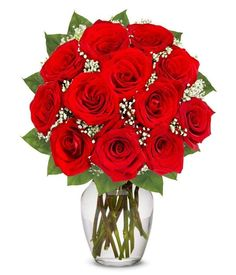#From_You_Flowers | One Dozen Long Stemmed Red #Roses | #Free #Vase Included: About the Product Arrangement Includes: 12 Long Stemmed Red…