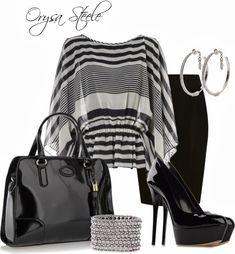 Jupe droite noire : 8 looks incontournables