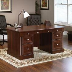 Palladia Executive Desk Select Cherry $589.00