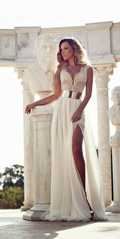 Latest Gorgeous long wedding dress fashion