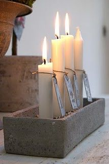 4 Vertical Candles in a Brick