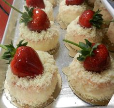 Strawberry Cheesecake   By Carlos Bakery  Hoboken, New Jersey