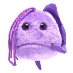 Trichomoniasis plush doll - the next giant microbe on my list of wants!