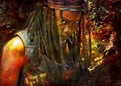 Michonne Pic#198  Of Stength, and clarity ... https://twitter.com/CarrionTrilevel