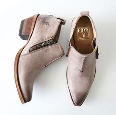 One of our favorite new styles of the season: our Sacha Moto Shootie, available at www.thefryecompany.com.