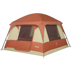 eureka copper canyon 6 camping family tent cabin style 6person 3season