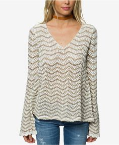 O'Neill Juniors' Cotton Delancey Sweater #fashion #style #shopping #travel afflink