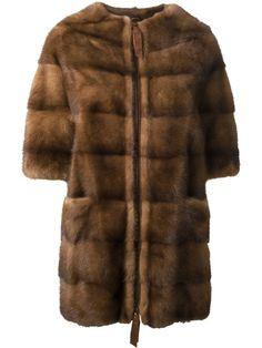 LISKA mink fur coat