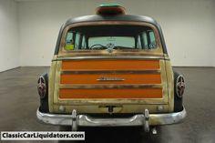 vintage woody car images   Classic Car Liquidators 1953 Pontiac Tin Woody Wagon