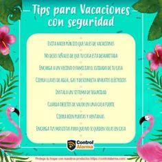 Control y Seguridad Online (@controlalarma) • Fotos y vídeos de Instagram Tips de seguridad para estas vacaciones Control, Instagram, Security Systems, Ip Camera, Vacations