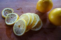 Immediately upon waking each day, squeeze about 1/2 to 1 full lemon (depending on size of the lemon) into an glass of warm or room temperature purified water. This is gentler on your body first thing in the morning compared to ice cold water. I've found that slicing the lemon into quarters before squeezing by hand is easier than squeezing halves. #homemadesparecipes