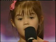 Kaitlyn Maher, 4 year old singer - America's got talent This will make you smile.. inside and out ! ! :)